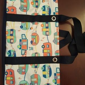 Thirty One Happy Camper Large Utility Tote